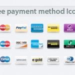 Payment Method Icons Set Vol 1