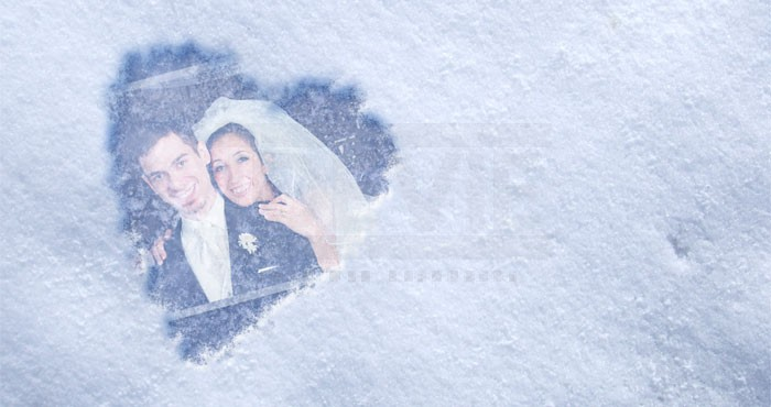 Photoshop: Snow Heart