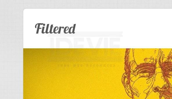 Filtered - Portfolio WordPress Theme