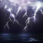 Rain, Lightning, Furious Ocean: The Perfect Storm!