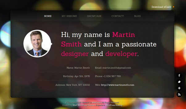 20 of the Highest Quality & Free WordPress Themes January 2013