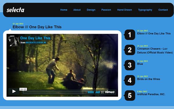 free drupal theme 7 vimeo clone layout template