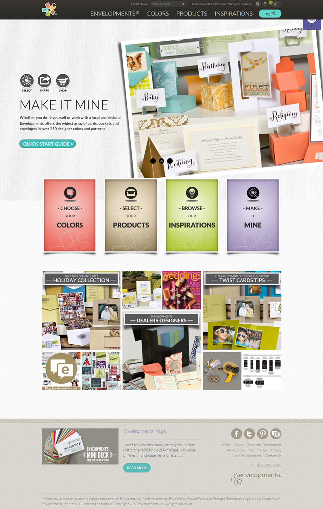 Envelopments - Fresh Examples of HTML5 Websites