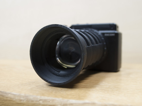 Hand-made Camera Lens
