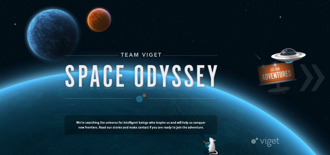 Team Viget - Fresh Examples of HTML5 Websites