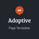 Adaptive Blog Theme: Page Templates