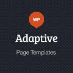 Adaptive Blog Theme: Page Templates