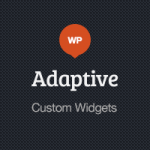 Adaptive Blog Theme: Custom Widgets