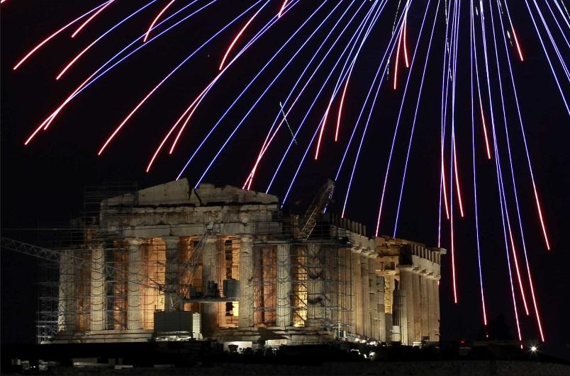 athen fireworks 2013