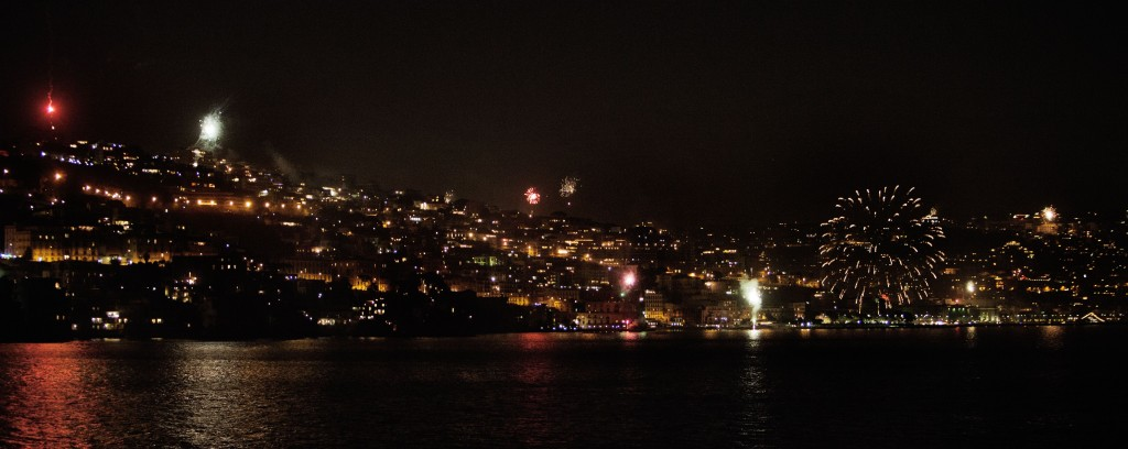 ITALY NEW YEAR fireworks 2013