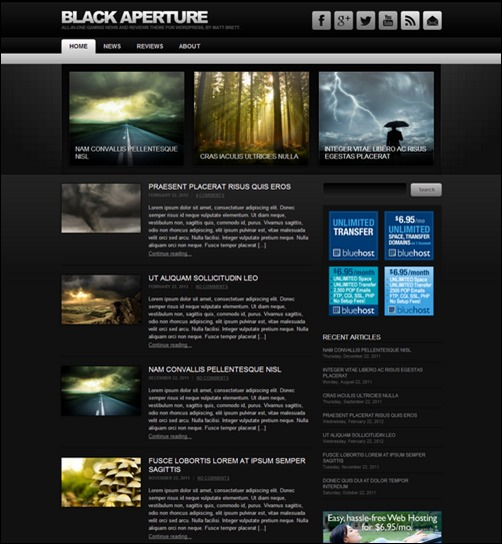 50 Excellent Dark WordPress Themes – Want Your Website to ROCK? - iDevie