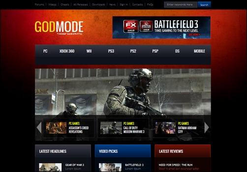 god mode battle mode 3 wordpress gaming themes