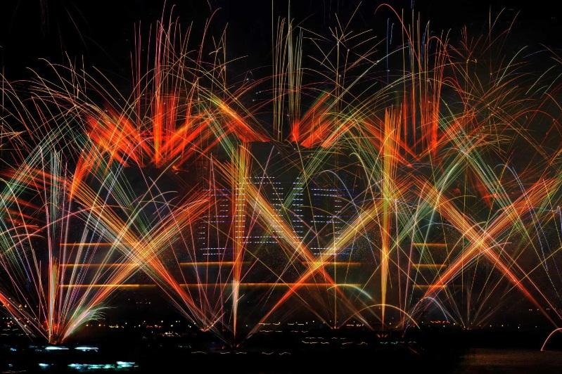 hongkong new year fireworks 2013