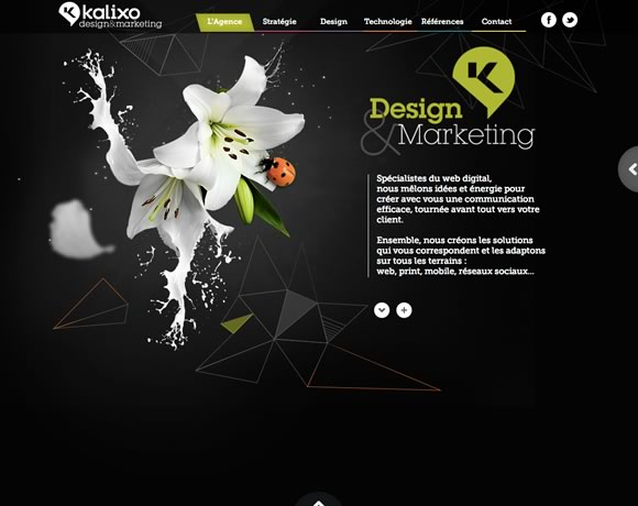 21 Fresh Examples of HTML5 in Web Design