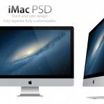 Free PSD: 2013 iMac