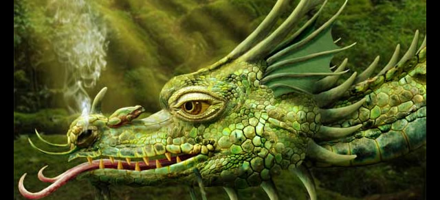 Dragon Painting - Best Photoshop Tutorials from 2012