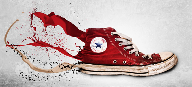 Awesome Splashing Sneaker - Best Photoshop Tutorials from 2012