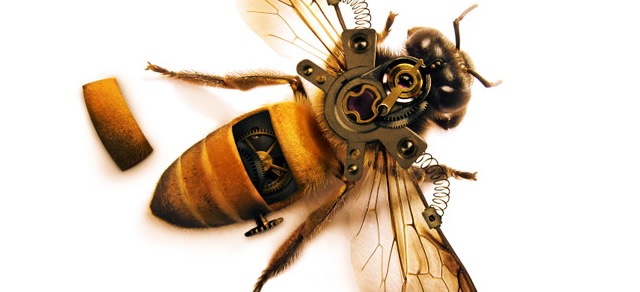 Highly Detailed Steampunk Insect - Best Photoshop Tutorials from 2012