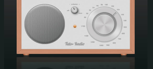 Cool Radio Icon - Best Photoshop Tutorials from 2012