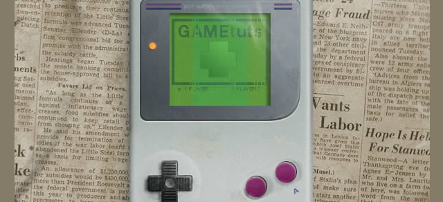 Retro Gameboy Icon - Best Photoshop Tutorials from 2012