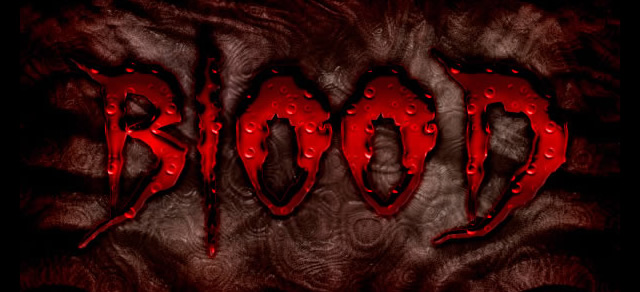 Bloody Text Effect - Best Photoshop Tutorials from 2012