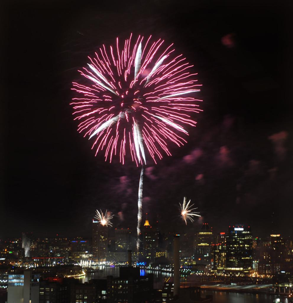Baltimore new year fireworks 2013