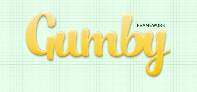 Gumby Framework - CSS User Interface UI Kit