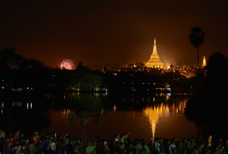 yangon new year celebrations