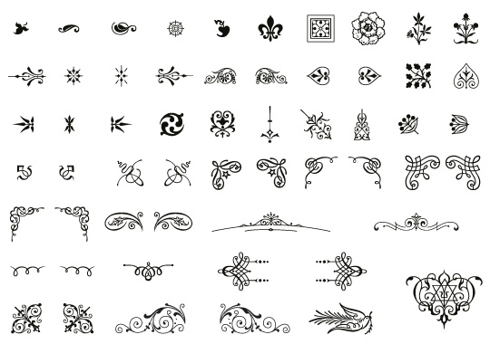 Image result for elegant dingbats