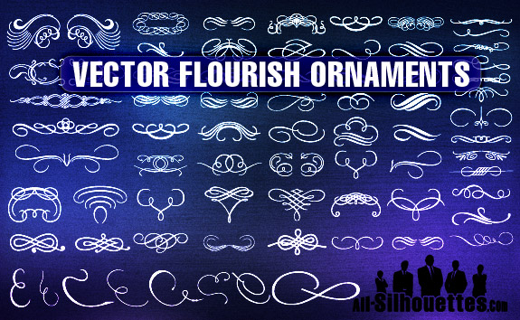 Flourish Ornaments