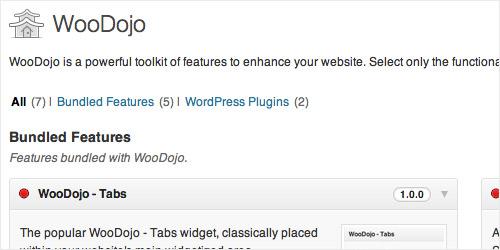 WordPress Plugin - Woo Dojo