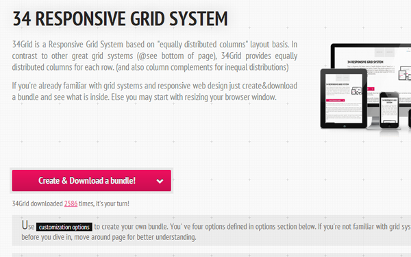 34 grid website layout styles open source