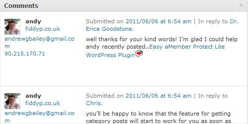 WordPress Plugin - CommentLuv