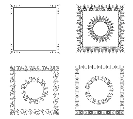 30 Free Ornaments, Frames & Borders Vector Resources - iDevie