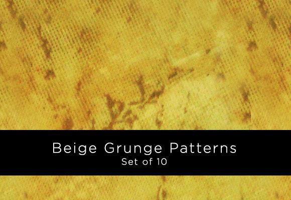 Beige Grunge Patterns