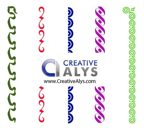Creative Border Vectors, Frames, and Corner Vectors