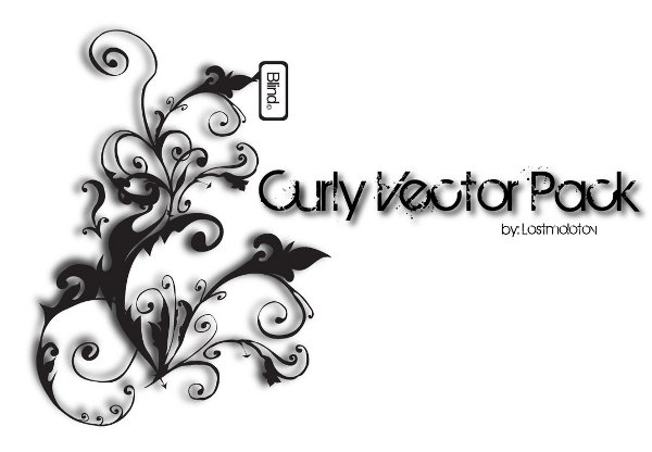 Curly Vector Pack