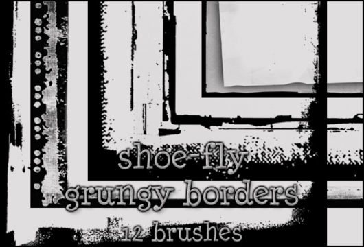 Grungy Border Brushes