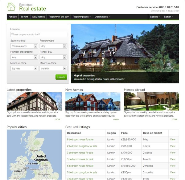 Bootstrap-Real-Estate