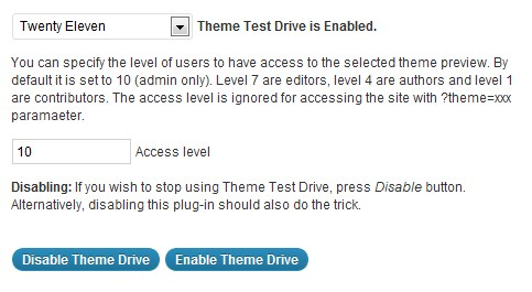 The Theme Test Drive plugin allows you to try out all of the features of your new theme without showing it to visitors.