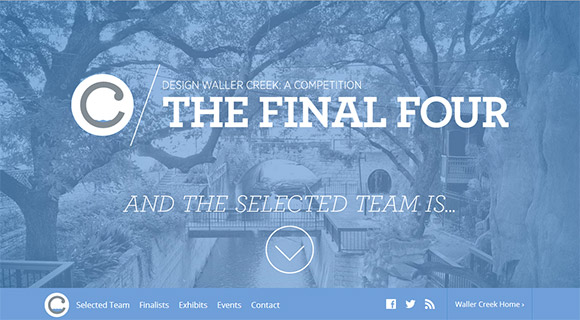 Waller Creek: The Final Four