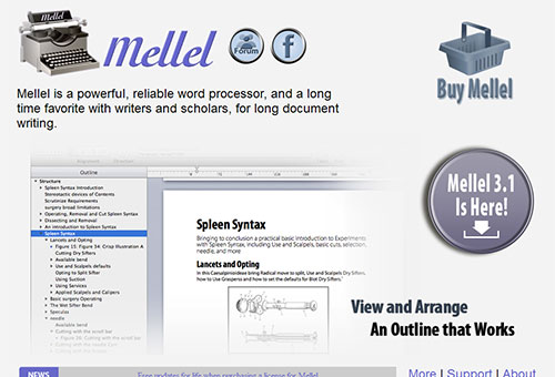instantShift - Mellel