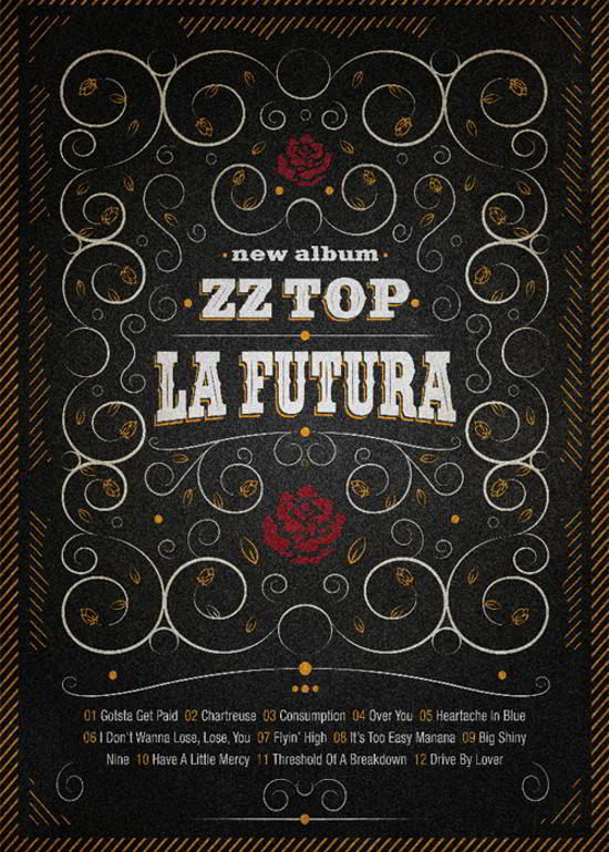 zz-top flyer design