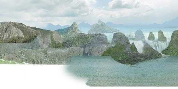 mountain-05  reduplicate render