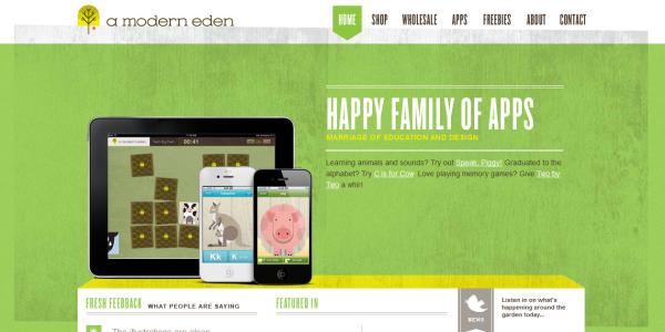 1. green based web design