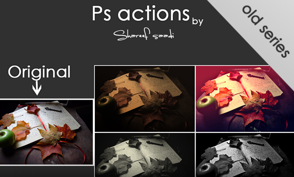 photoshop actions freebie download effect collection