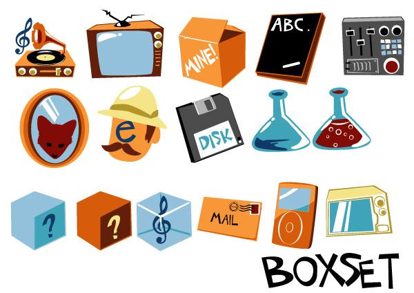 15. retro icons