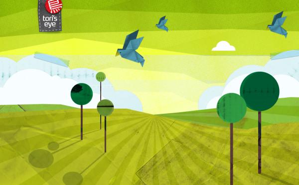 2. green based web design