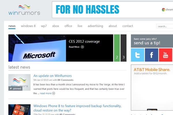 windows rumors blog magazine online website