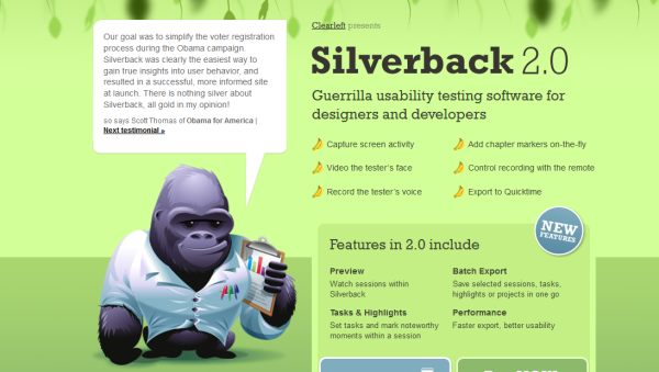 3. green based web design